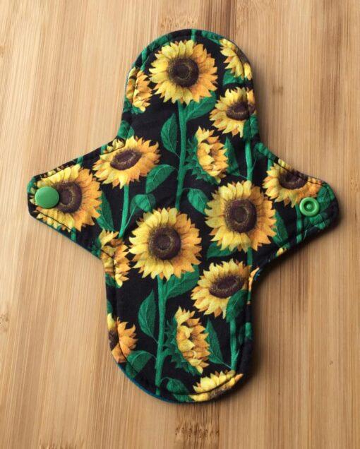 sunflower cloth pads