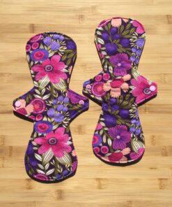 cloth pad floral reusable