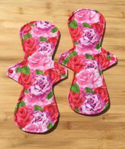 cloth pads roses